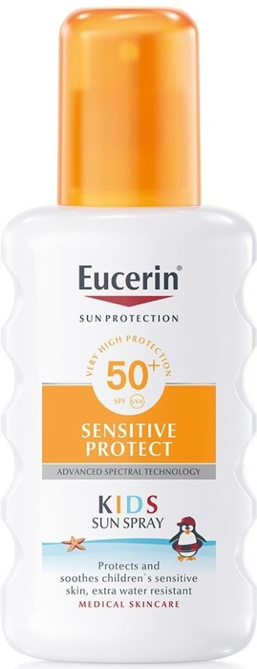 Eucerin Sun Sensitive Protect Gyermek napozó spray FF50+